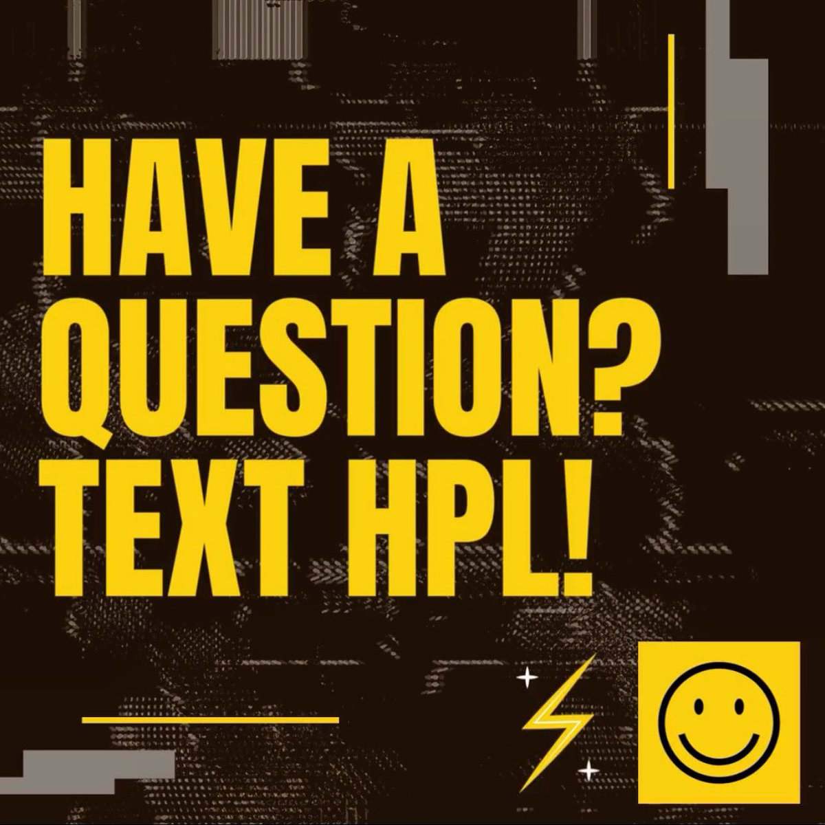 📣💬📲 Text @HPLCT!   If you have a question, you can now text us! Text 860-530-4376 and a librarian will respond immediately. If our chat is offline, the text will be answered as soon as possible. Get help accessing books, our online collections and all that HPL has to offer!😀