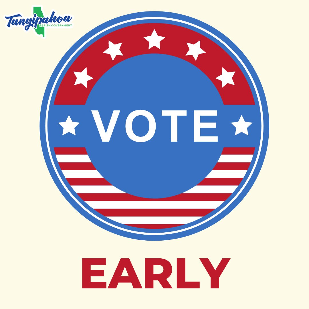 FOR IMMEDIATE RELEASE - Early Voting Dates and extended hours for the November Presidential election.  Read the full press release here>>>