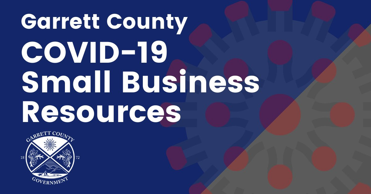 The Garrett County Commissioners have revised some of the criteria for the COVID-19 Business Grants to increase the number of businesses eligible to apply.  To view the updated criteria and access the grant applications, please visit:  .
