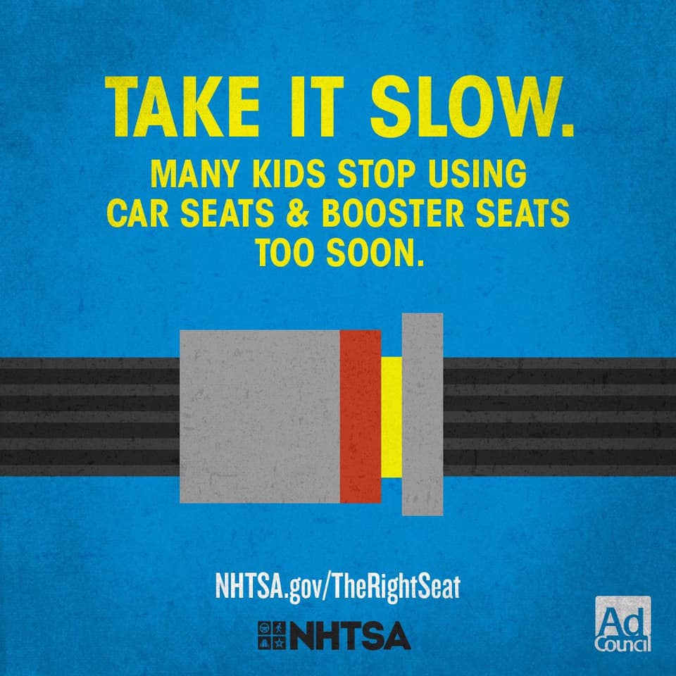 When is your child ready to move to the next car seat?  Maybe not as soon as you think! Many parents move their child to the next car seat type too soon. Always make sure your child is in #TheRightSeat for their age and size: visit .