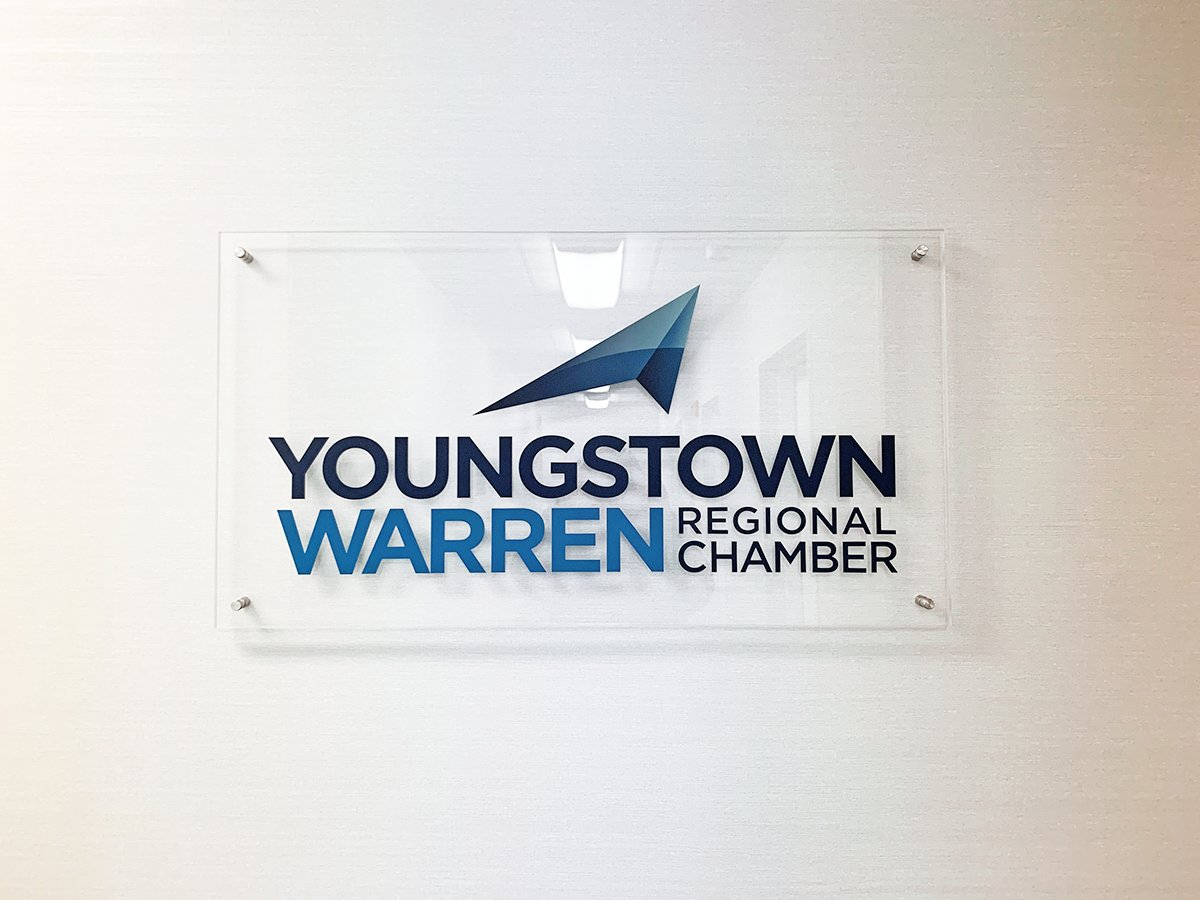 Although we moved in July, it's starting to feel more like home as we welcome visitors with our new sign—created by Chamber member @innoexhibits!