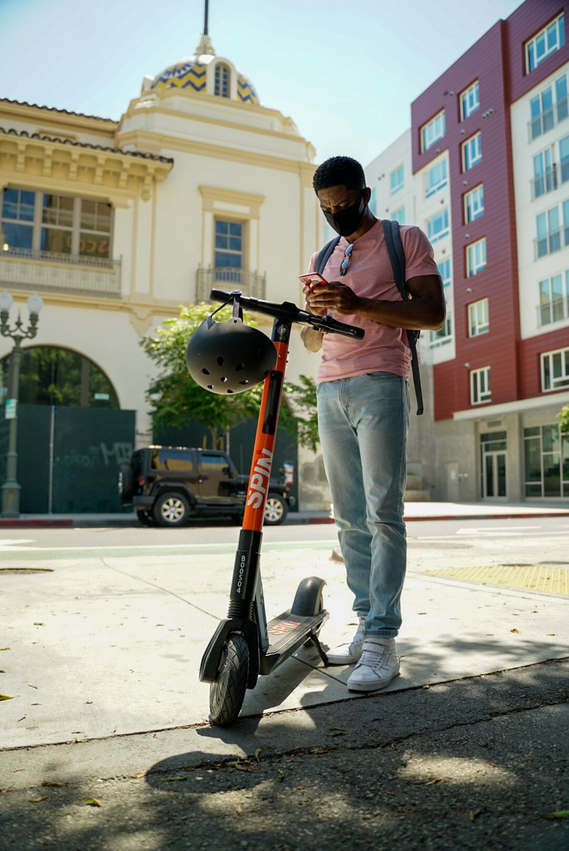 The City of San Marcos is pleased to announce our collaboration with Texas State University to introduce a scooter pilot program with Spin electric scooters that will provide alternative transportation on campus and to regions of Downtown San Marcos.  .
