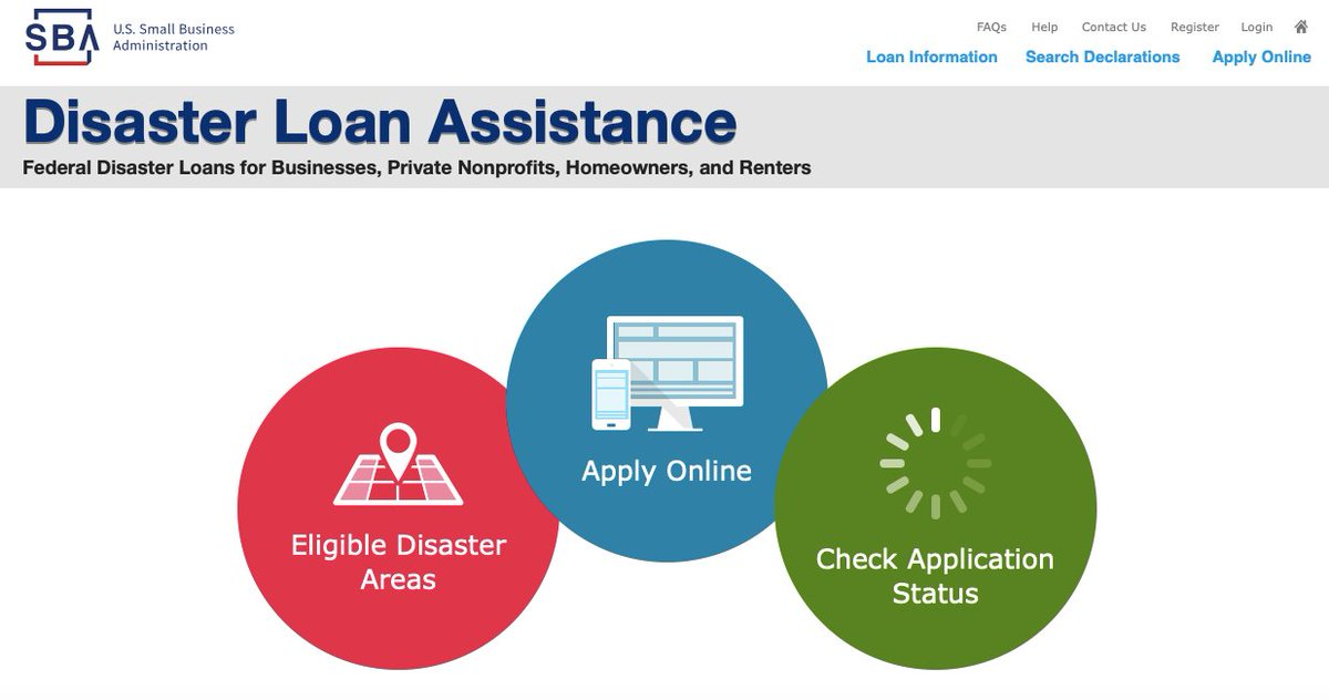 SBA disaster loans are an important part of the disaster recovery process, providing businesses, non-profits, homeowners, and renters with access to the funds they need to rebuild, particularly when damages are not covered by insurance. Learn more at .