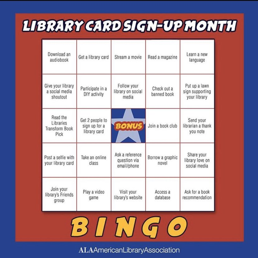It's still #LibraryCardSignUpMonth, and we'd love to show you some of the many ways to use your #PINES card! #douglasvillelibrary #douglasville #douglascountyga #libraries #ala #BINGO #CommunityResources #yourtaxdollarsatwork