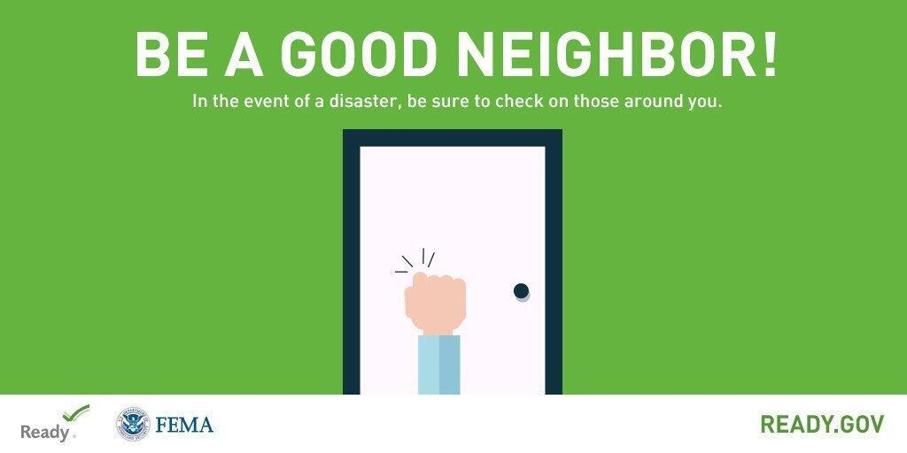 National Preparedness Month: Set a good example for your community & do some good preparedness deeds! Can you donate blood? Or run errands for people who have mobility issues or COVID-19 concerns? Find more ideas here:  #BeReady #PrepYourHealth #NatlPrep