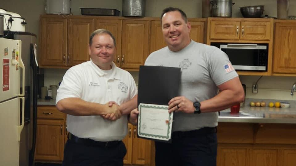 Congratulations Captain Miles on reaching a 15 year mile stone serving the citizens of Joplin. #SaferJoplin #JoplinFire