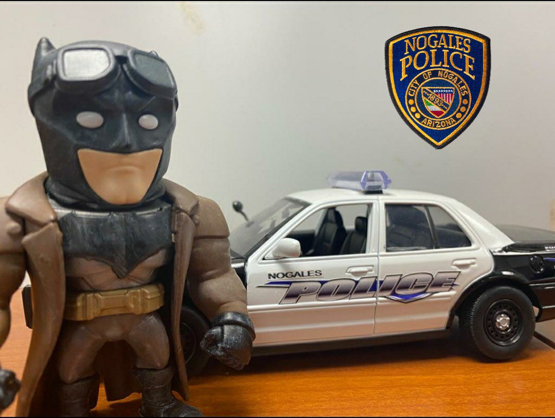 Today is Batman Day! Just like Batman, NPD is always ready to protect its citizens.