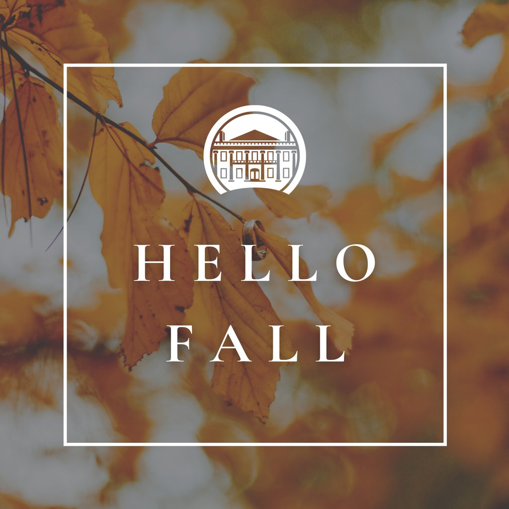 Hello Fall! What are your favorite activities to do in cooler weather?