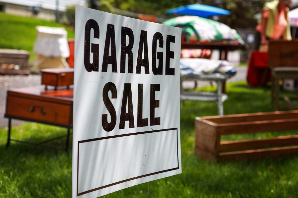Who's in the mood to go Garage Sale shopping?  Check out our City-Wide Garage Sales this weekend with this interactive google map!