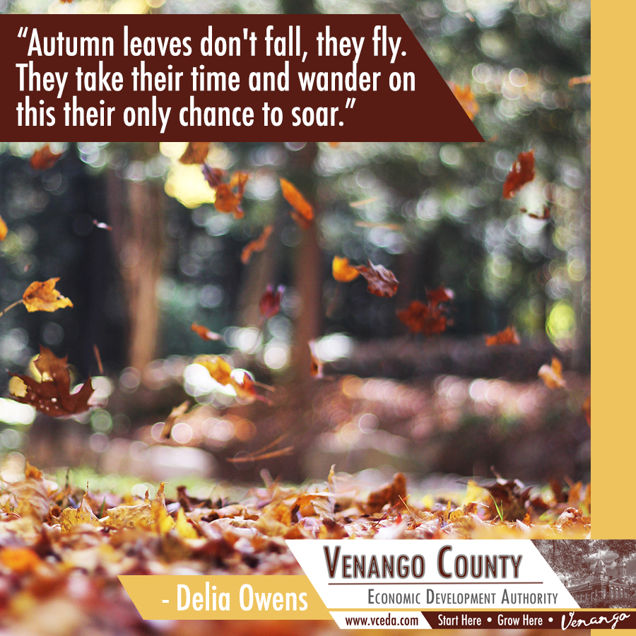 Happy first day of fall! #VenangoCounty #FirstDayofFall #HappyAutumn #AutumnEquinox