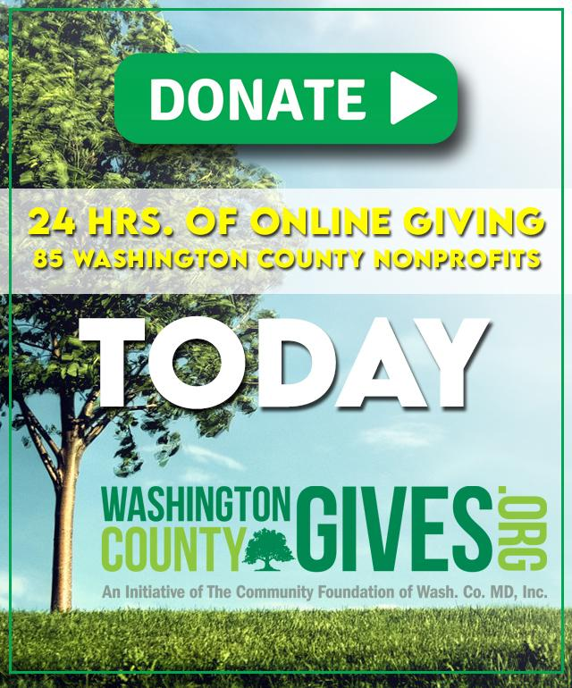 Today's the day! It's Washington County's biggest fundraising day for participating nonprofits! 85 organizations compete for matching funds, cash giveaways, and top-honors on the leaderboard. Become a community hero by visiting . #washingtoncountygives
