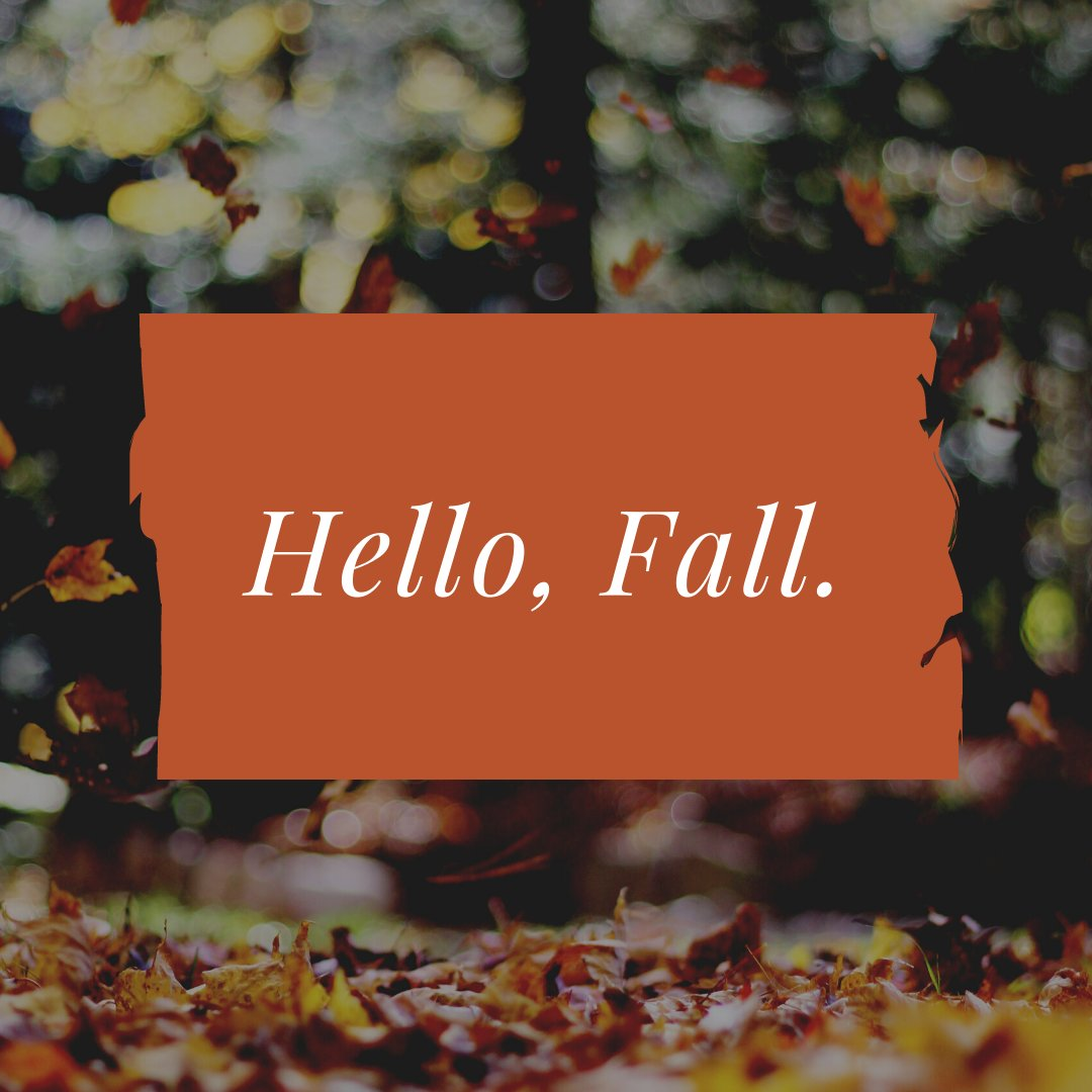 Happy First Day of #Fall 🍂, Newnan!