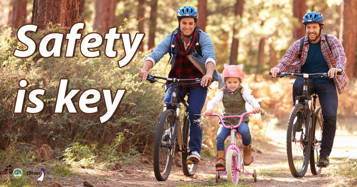 September is the perfect time for bike riding with your family. Learn how to do it safely: