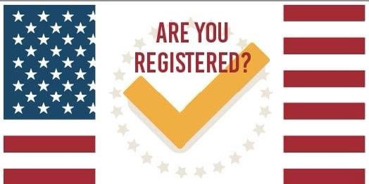 It's National Voter Registration Day! Are you registered to vote? You can register or update your registration information today using the online voter registration system:  #MDvotes #Election2020  #VoteReady #FrederickCoMDVotes