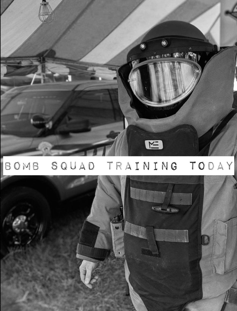 We wanted to advise the public that today, in the area of the Porter County Expo Center, the Bomb Squad will be conducting training and there will be loud noises.  We apologize for the inconvenience!