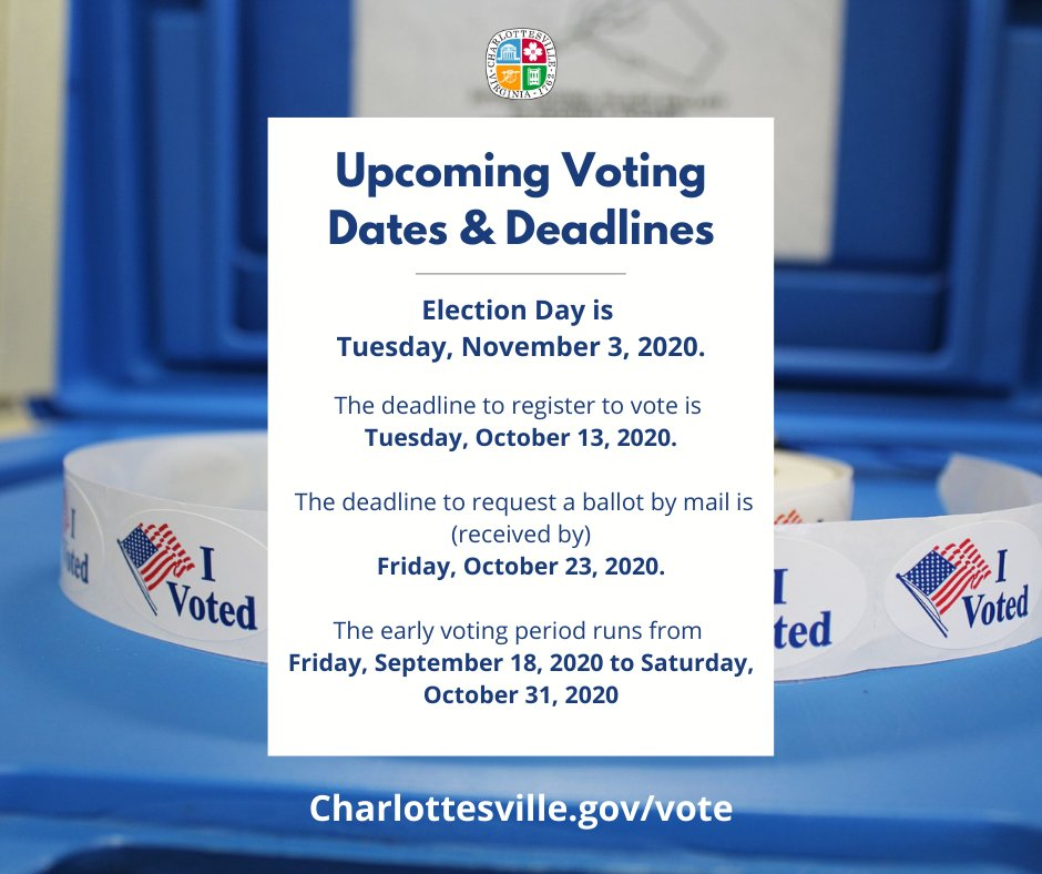 There's still time to get registered for the November 3 Election and what what better day would that be than on #NationalVoterRegistrationDay? Head over to  to get started!