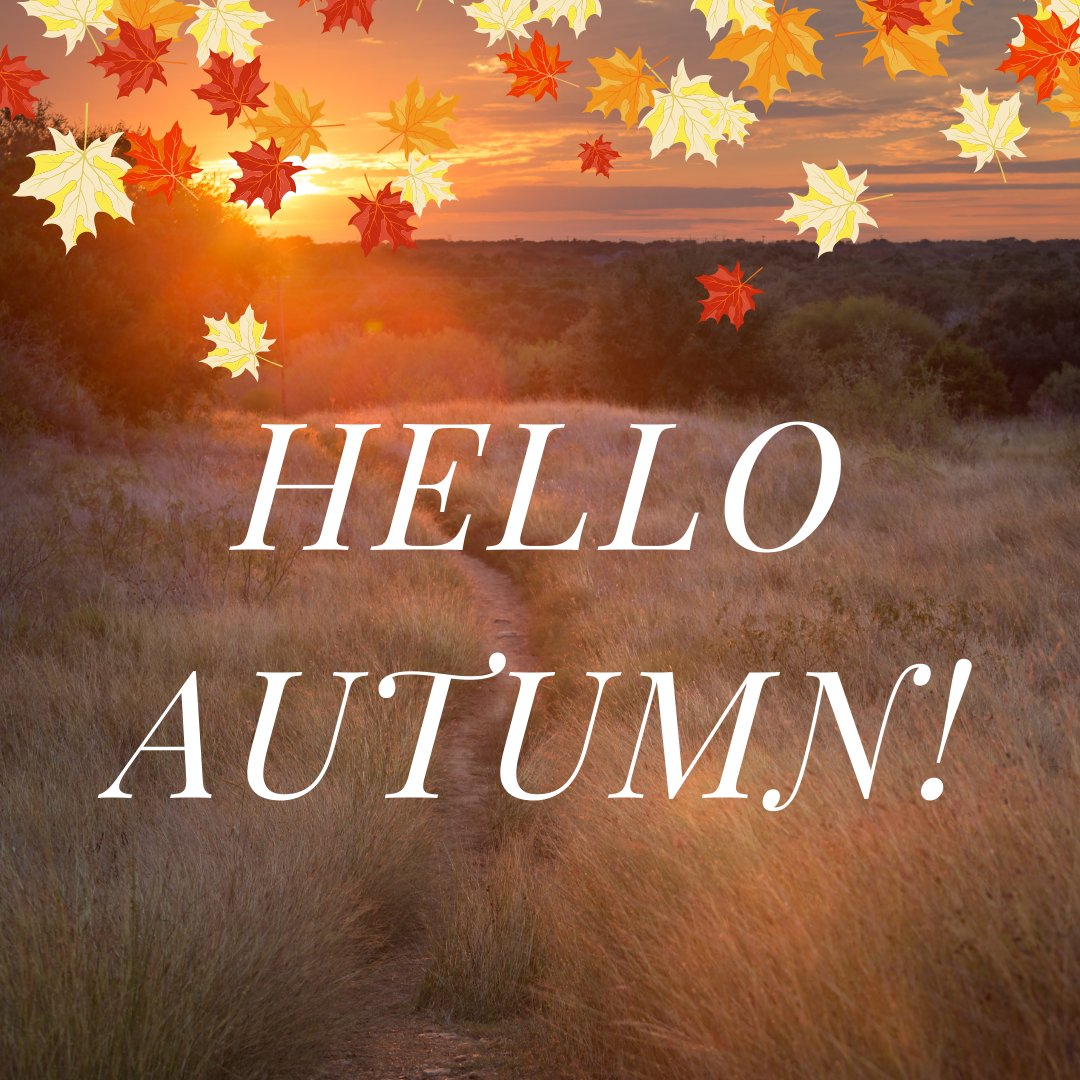 Get out the fall scented candles, warm blankets, and fall decor because today is the first day of Autumn! What are you most excited about for this upcoming season? 🍂🧣