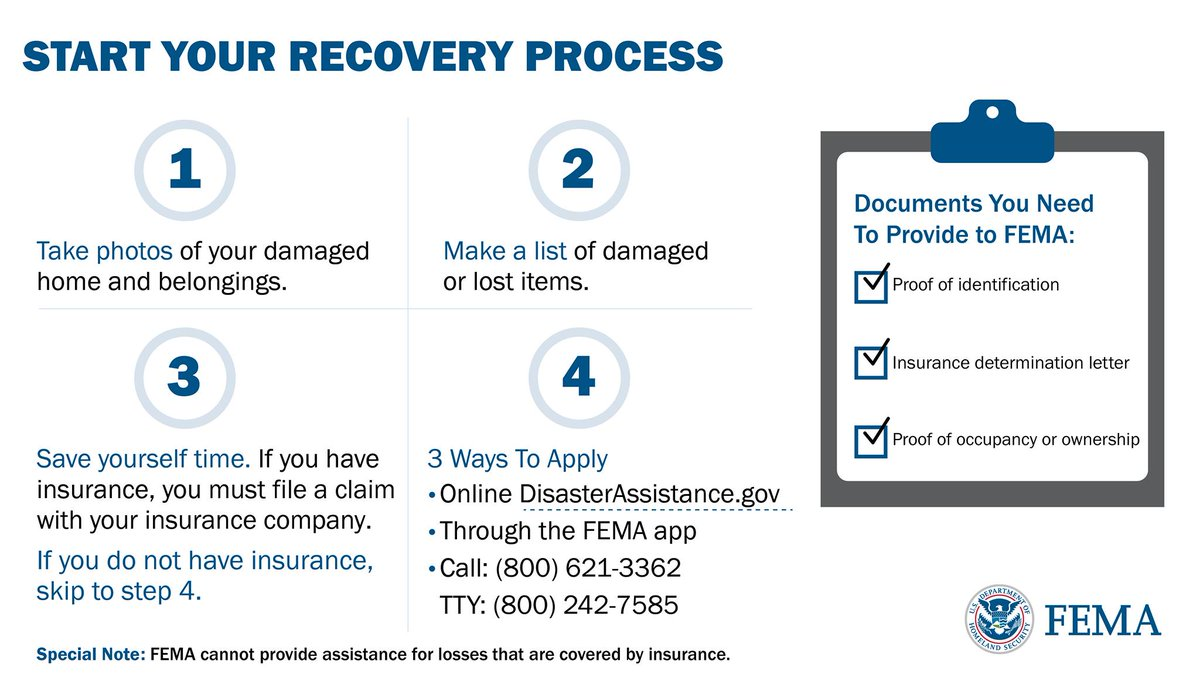 Baldwin County residents are now eligible for FEMA Individual Assistance. You may ONLY apply one of three ways- online, on the app, or with the 1-800 phone number.   Do NOT give personal information to anyone calling or emailing you claiming to be from FEMA.