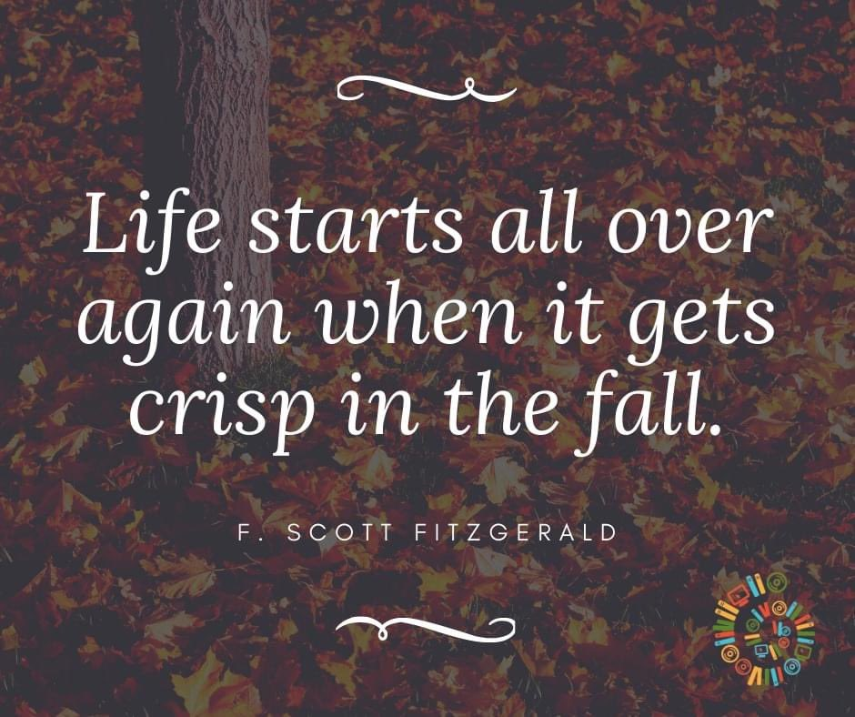 Good morning, and happy First Day of Fall! What are you looking forward to most this fall season?