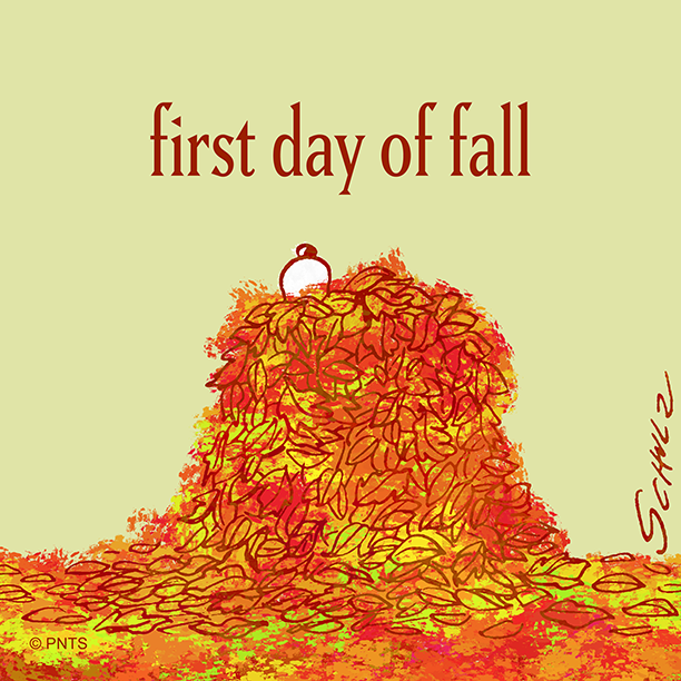 RT @Snoopy: Happy first day of Fall 🍂