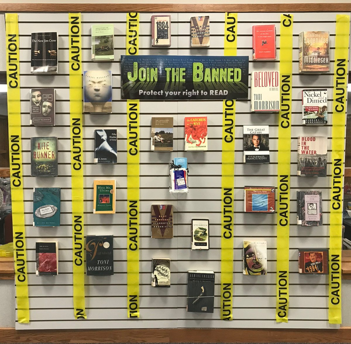 #BannedBooksWeek starts this Sunday, 9/27! Celebrate with a week of virtual activities with @OIF. Check out our cool display of banned books @PLMVKC and get entered to win a couple of banned books for your very own collection.