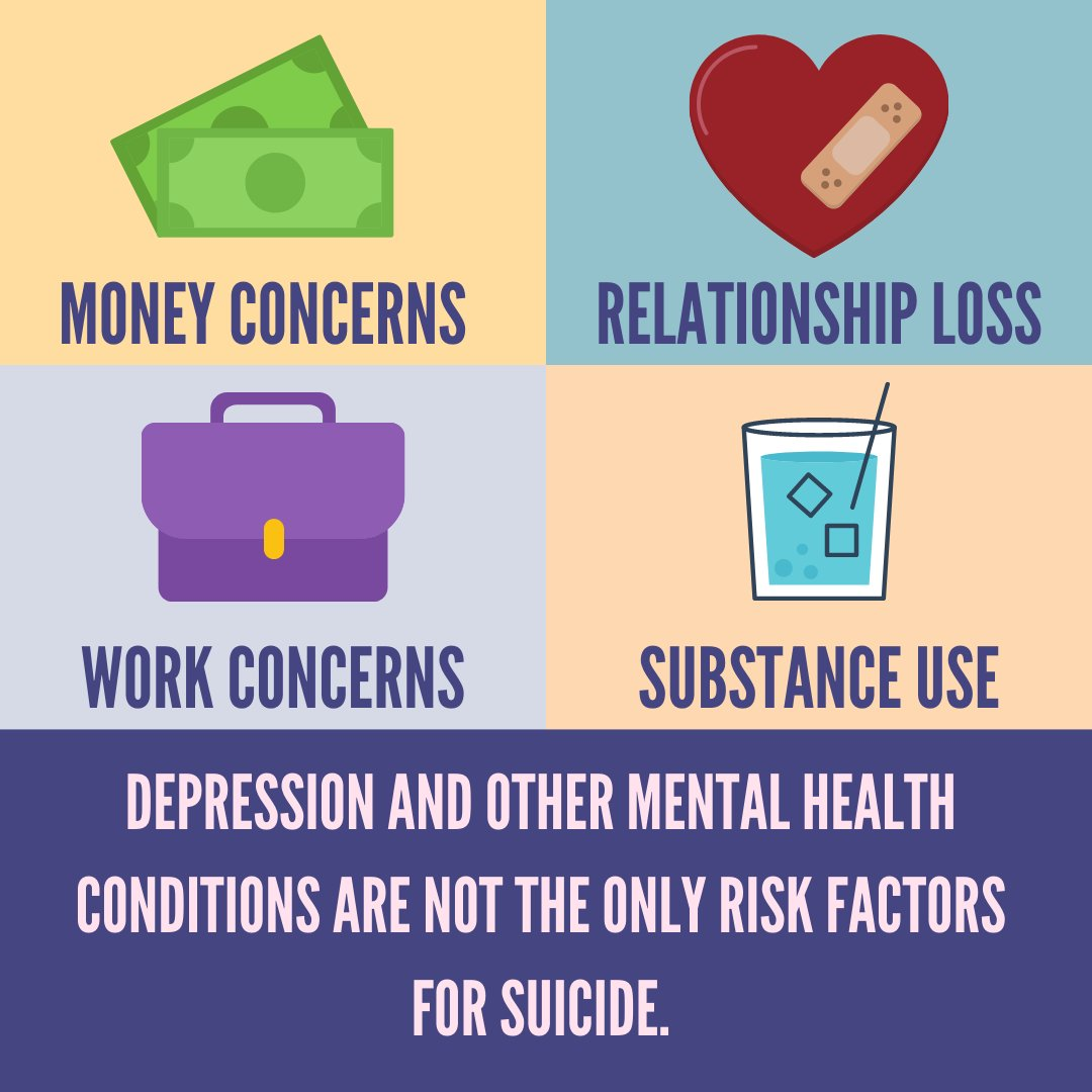 RT @HarCoHealthDept: Learn more about suicide risk and protective factors  #TalkAboutSuicide