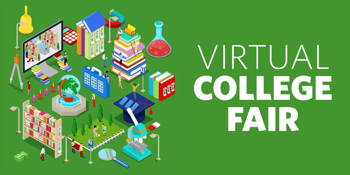 Thinking about college? Here's your chance to hear from college and university reps and financial aid orgs. Parents are invited, too. 😉  Live, 11 a.m. - 5 p.m. this weekend!    #FCPLteens #VirtualProgram #MDlibraries