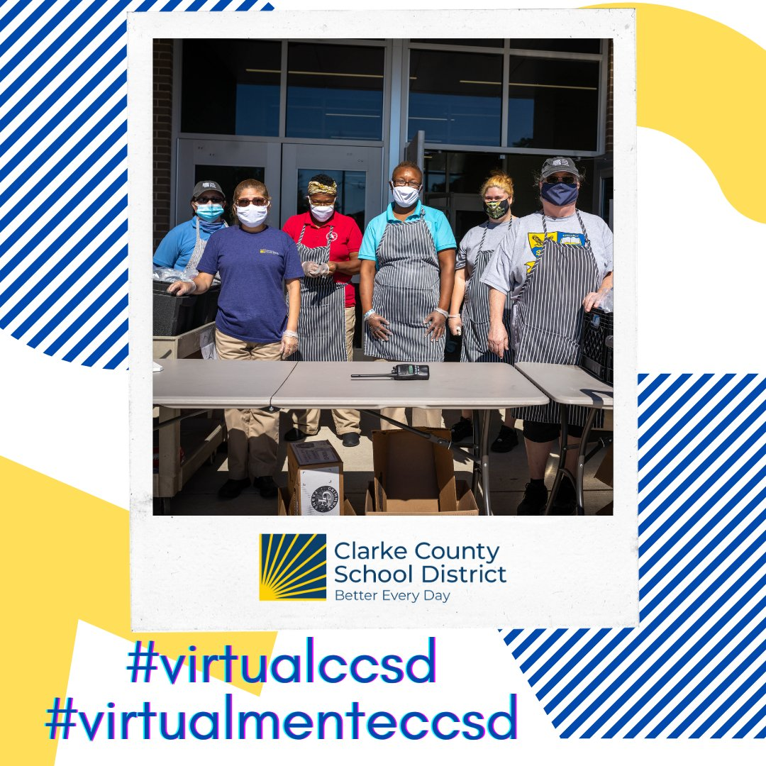 The CCSD Nutrition and Transportation teams are dedicated to supporting our students.  Thank you to Paula Farmer (Director of School Nutrition) and Mark Weaver (Director of Transportation) and their incredible teams!  We see you! #virtualccsd #virtualmenteccsd