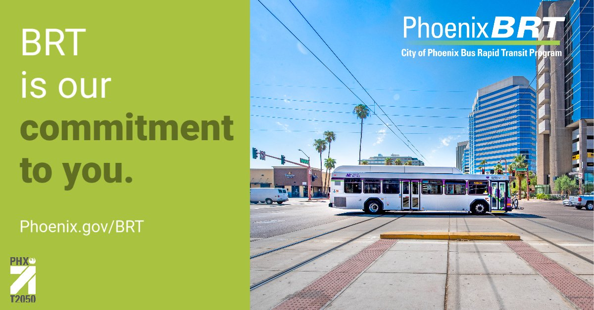 Have you checked out the Bus Rapid Transit (BRT) online meeting yet? Visit   There's a virtual meeting, educational information and a survey.   Learn more about the #T2050 program today!  #BusRapidTransit101