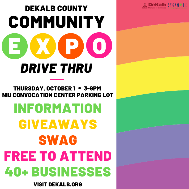 Visit the local businesses and non-profits in your community at the Community Expo Drive Thru next Thursday, October 1st! Safe and socially distanced, you can learn about the resources at your fingertips with limited contact. More details at .