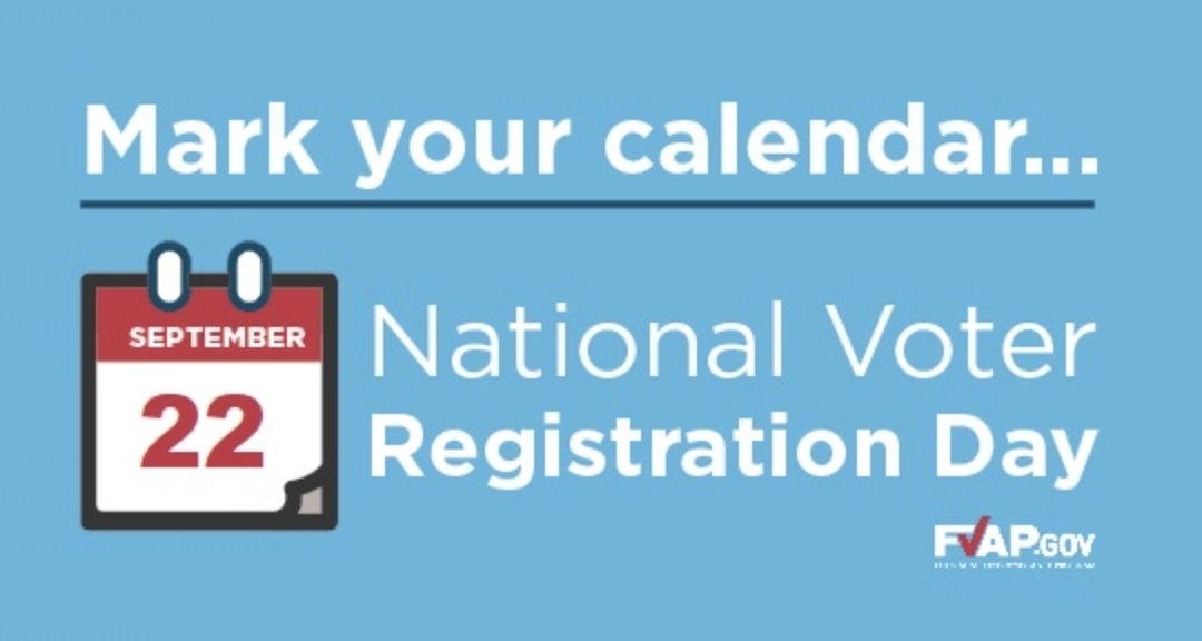 RT @USCGNogales: Today is National Voter Registration Day. Visit