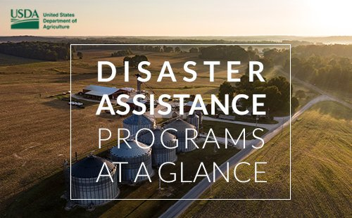 To better help producers recover from natural disasters, @USDA has published a new brochure on . This  is a quick reference guide to available FSA, NRCS & Risk Management Agency disaster assistance programs.