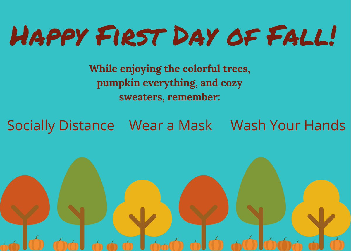 Happy Fall! Here are some ideas for getting outdoors while staying safe: