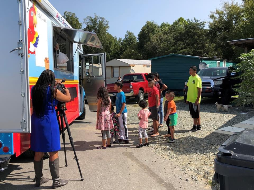 ABSS is proud to launch the maiden voyage of our community-donated food truck for students! MAC'S Cafe has arrived! 🚚 Meals for Alamance County Students delivered the first set of meals today! Thank you to our community partners who made this dream possible!
