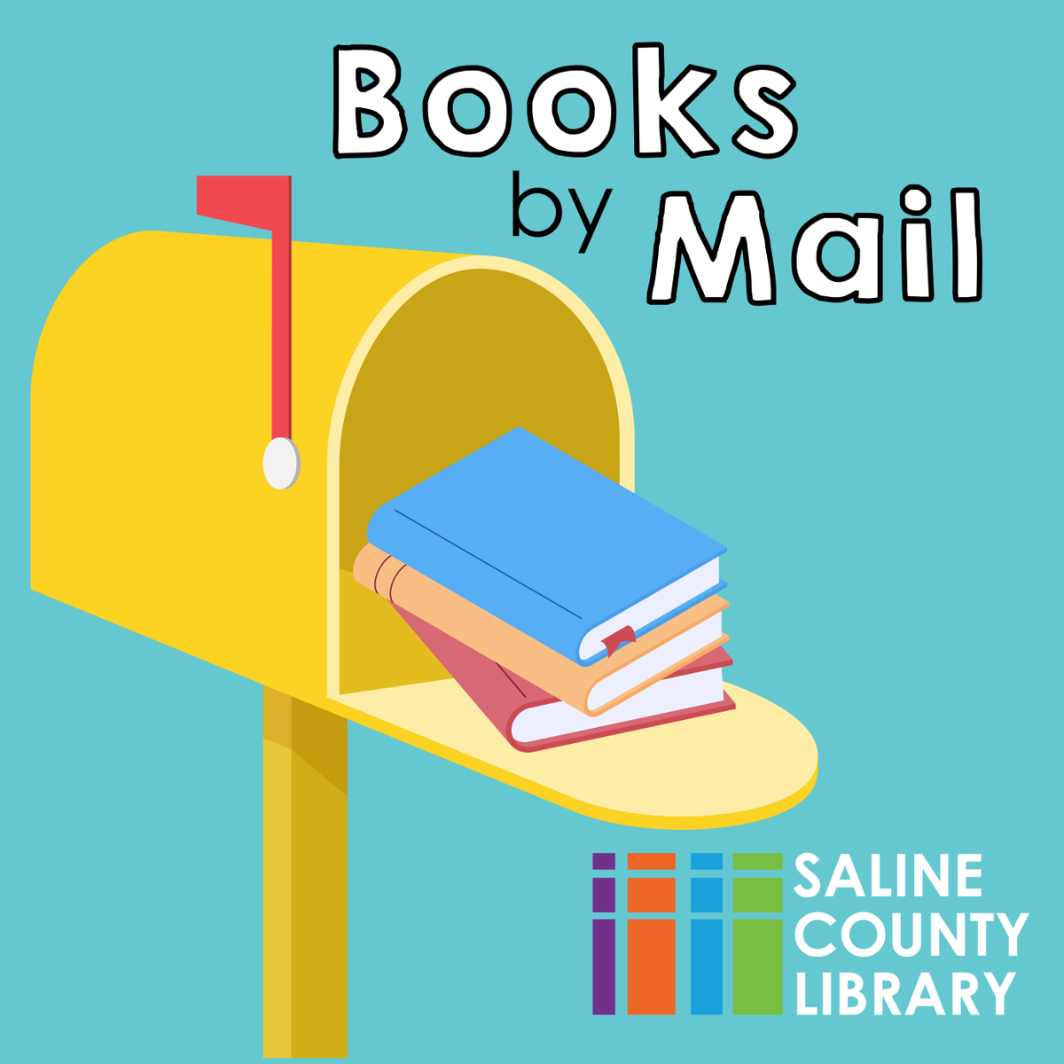 We are pleased to announce a new service! #BooksbyMail is in the testing phase and we are seeking candidates who live in outlying areas. If you are interested, please fill out this application form. Space is limited to the first 30 qualifying participants.
