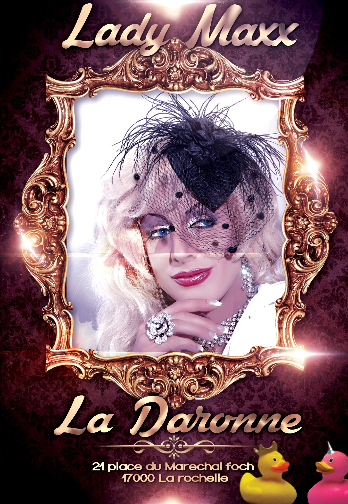 Rdv le 2/3 octobre @LaRochelle_OT  #cabaret #spectacle #ladaronne https://t.co/KhqmZGz5rs