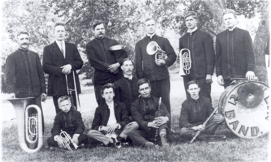 RT @PlacerMuseums: Rocklin Band, c. 1908 #History #Music