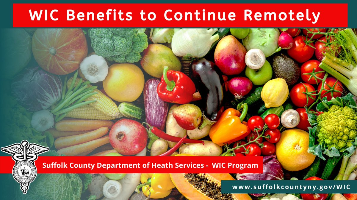 The USDA announced Monday that WIC benefits will continue to be provided remotely to eligible WIC participants. To find out how to get your WIC benefits visit