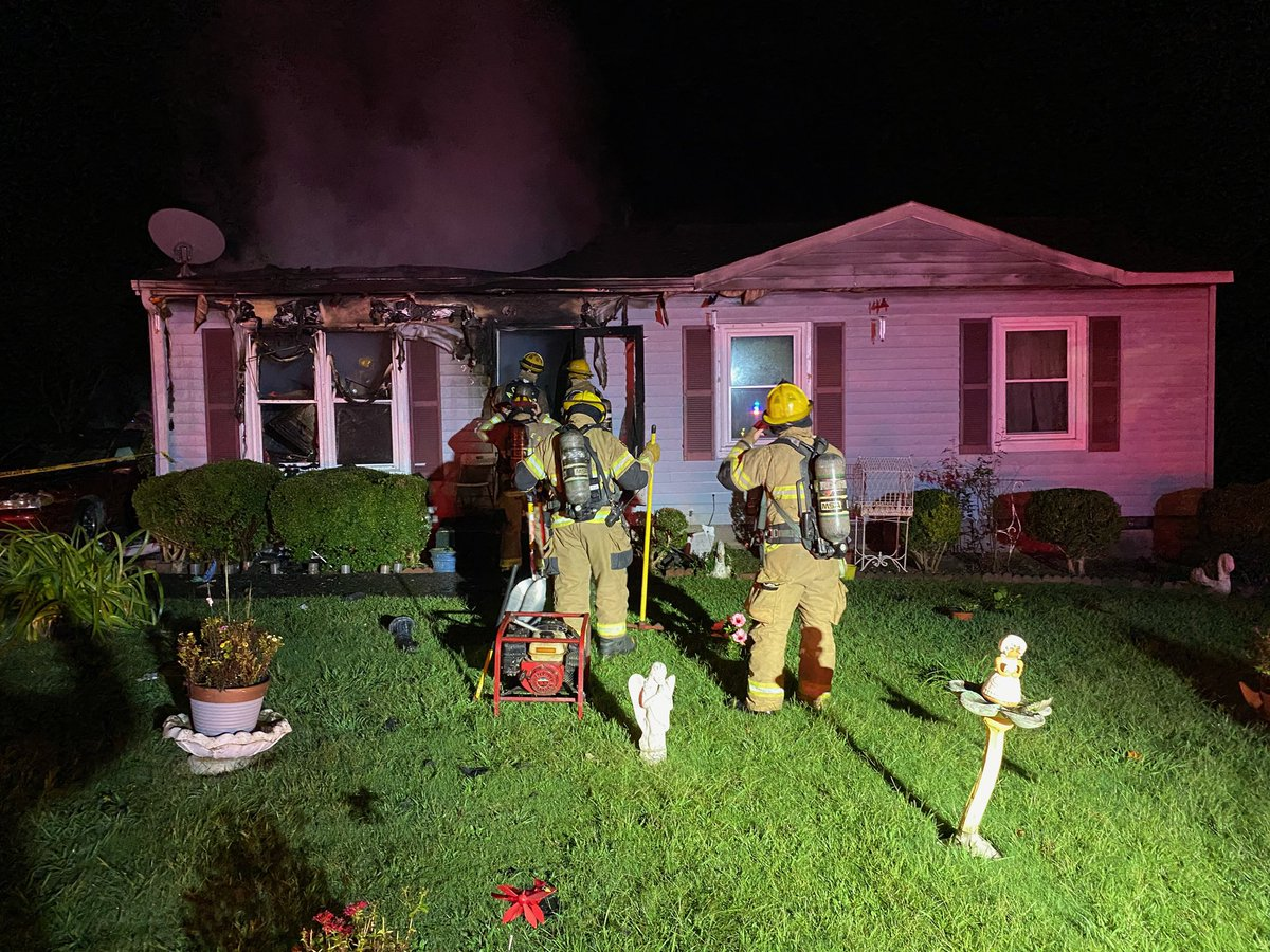 Crews are out with a structure fire on Martin Court. Heavy fire conditions were encountered upon arrival. Two occupants were already out of the structure. The fire is now under control. No injuries were reported. Fire cause is being investigated. Red Cross will care for victims.