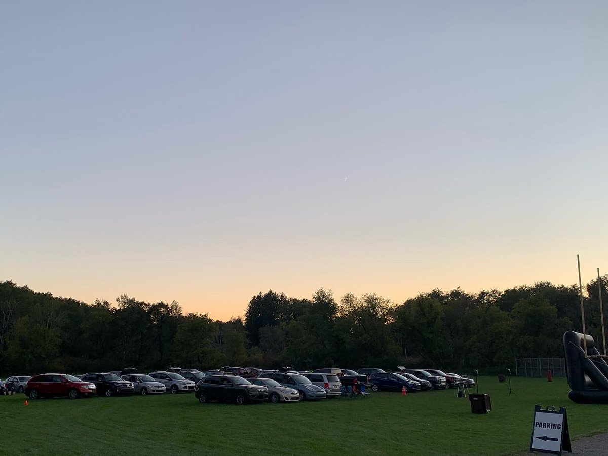 """We had a great Drive-In & Dine Out event 9/19/20! Thanks to everyone for coming out, to Armstrong & Image FX for sponsoring, & to all of our food providers for making our""""Dine Out"""" portion possible! Glad we could have this event for the community. Thanks for being our neighbor!"""
