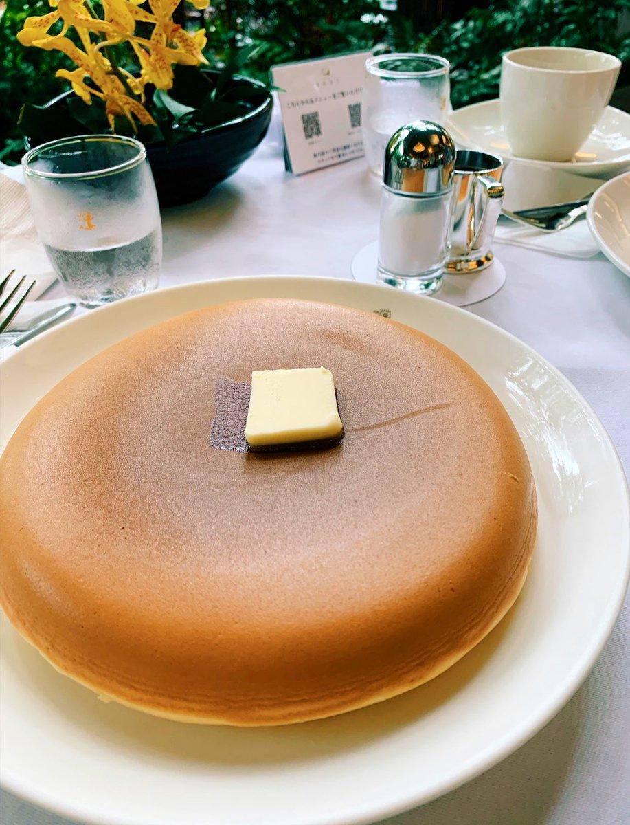 test ツイッターメディア - ルビーパレスで朝サウナしたその足で、銀座ウエストのパンケーキ....🥞 しあわせだねしあわせだねって延々といってます。しあわせ〜ありがとう〜ごちそうさまでした〜 https://t.co/fmyuivou3x