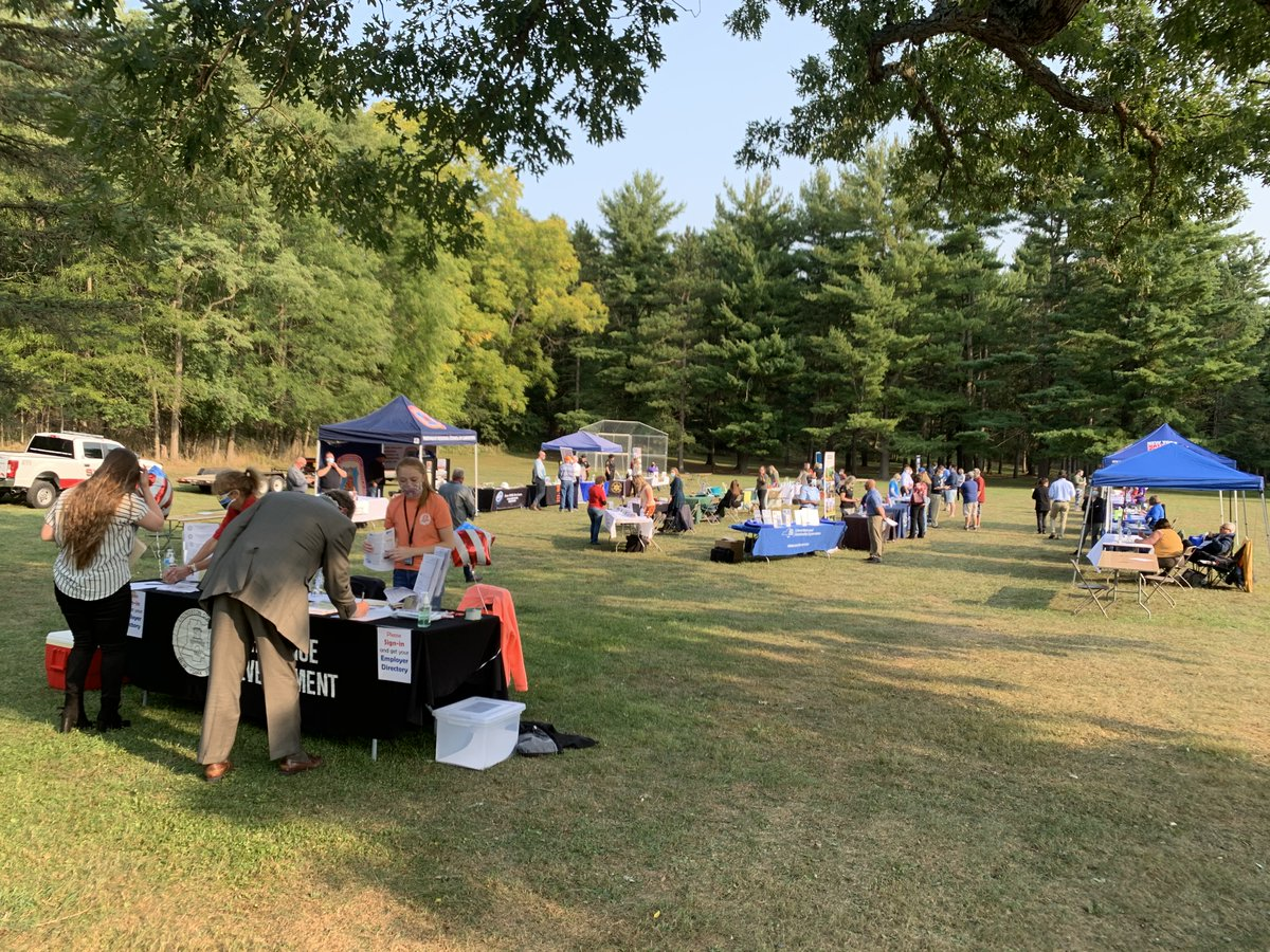 Last night's Outdoor Job Fair at Al Lorenz Park in Mount Morris was a huge success! Thank you to all the employers and job seekers who attended.