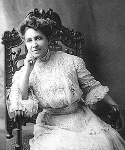 Mary Church Terrell was born on this date in 1863. She was one of the first African-American women to earn a college degree and the first to be appointed to a major city's school board. She served as the first president of the National Association of Colored Women.