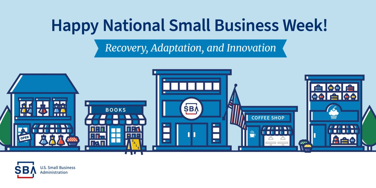 Happy National #SmallBusinessWeek! Small business is the backbone of Joplin and make up 80% of the the Joplin Chamber membership. We are recognizing small businesses in our community for their innovation and resilience this year. Learn more here →