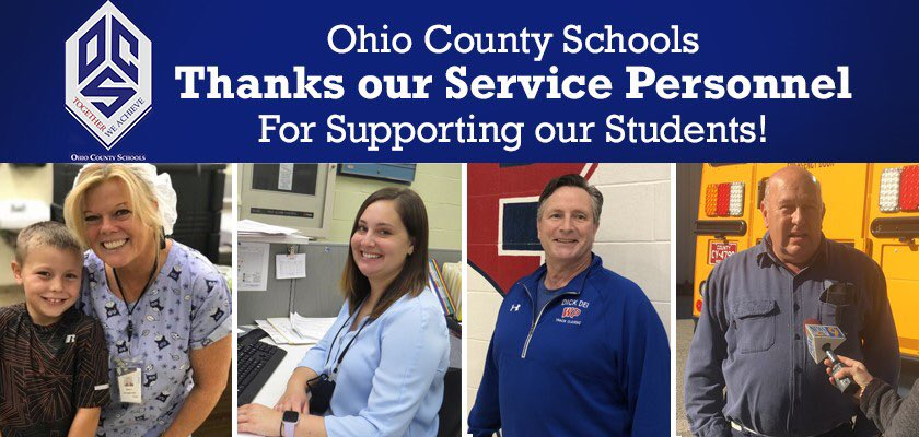 Happy Service Personnel Day to our super staff members who go above and beyond every day for our students!!! #TogetherWeAchieve