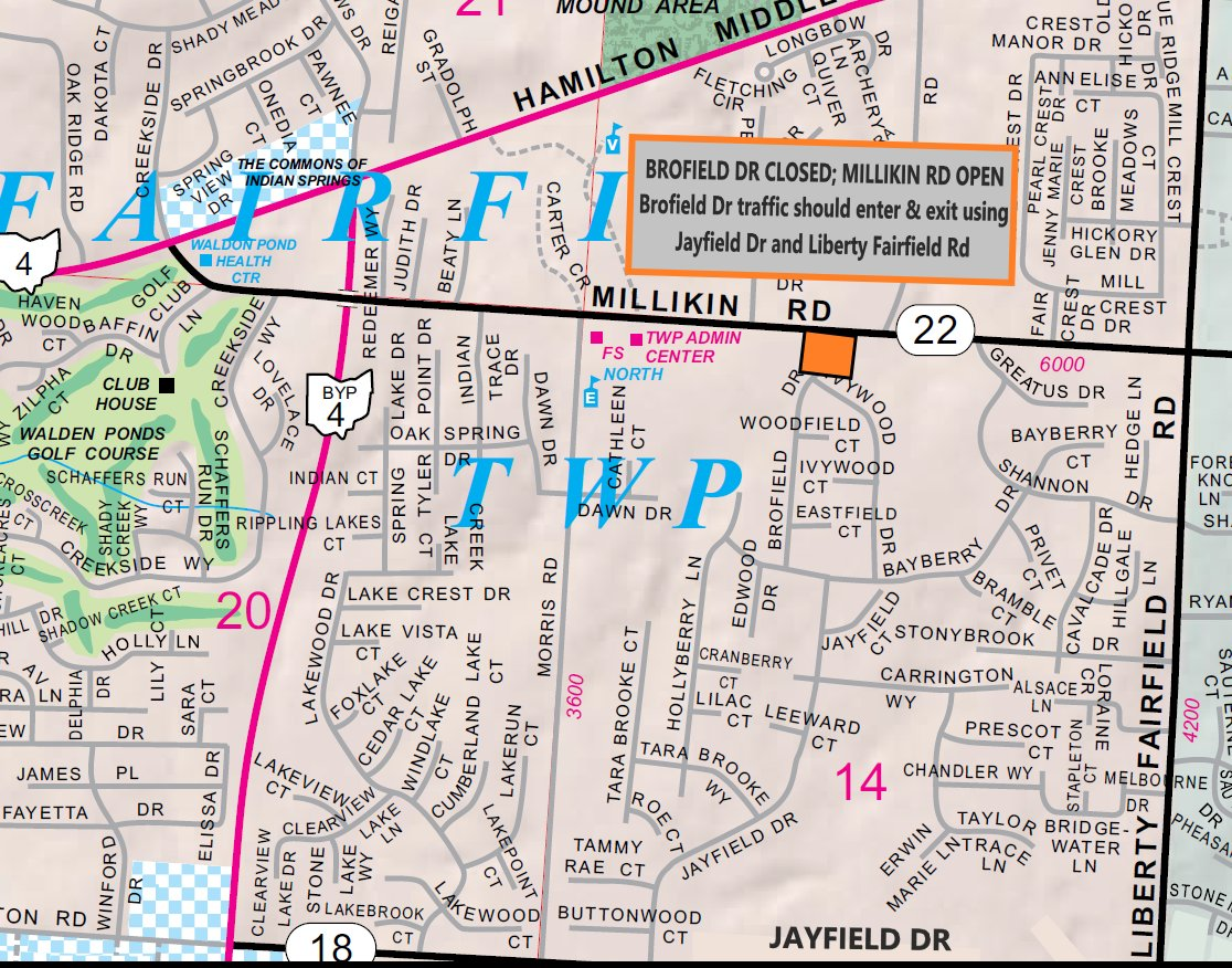 BROFIELD DRIVE will close Tuesday, 9/29. Please see details here:   #bceo #roadclosing #culvert @FFTWP1795