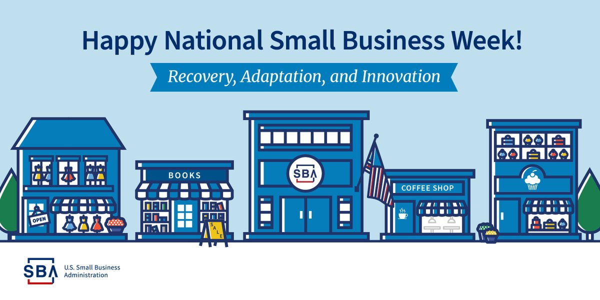 We recognize small businesses this week...Sept 22-24. For information on planning, launching, maintaining and growing your business go to to the Small Business Administration website at .