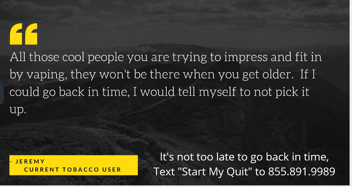 Start Your Quit Today 🚭  Text