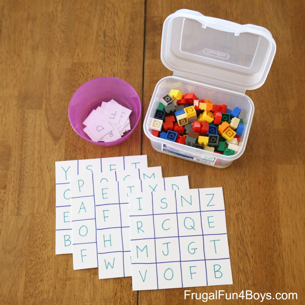 #PassportToKindergarten: Draw a grid on a blank piece of paper to make a simple bingo board and get familiar with the alphabet!