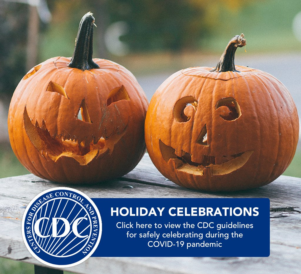 As many people in the United States begin to plan for fall and winter holiday celebrations, CDC offers the following considerations to help protect individuals, their families, friends, and communities from COVID-19.